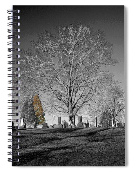 Roseville Cemetary Spiral Notebook