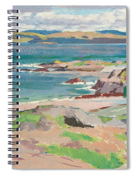 Ross Of Mull From Traigh Mhor Spiral Notebook