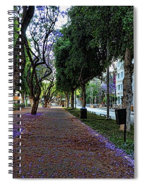 Rothschild Boulevard Spiral Notebook