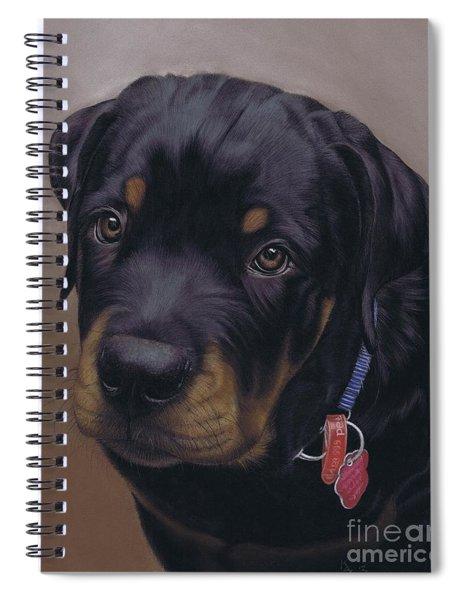 Rottweiler Dog Spiral Notebook