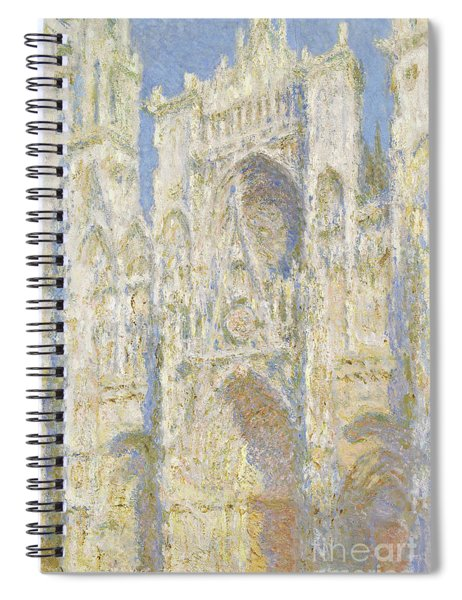 Rouen Cathedral West Facade Spiral Notebook