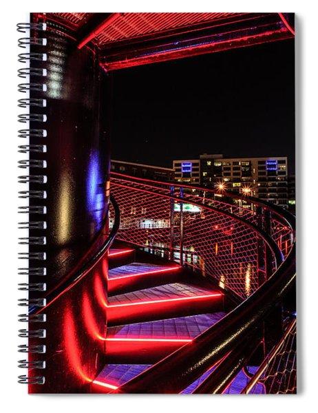 Round Staircase Spiral Notebook