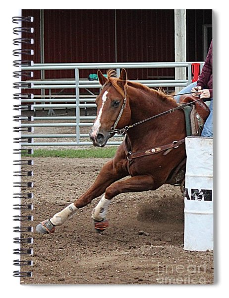 Rounding Third Spiral Notebook
