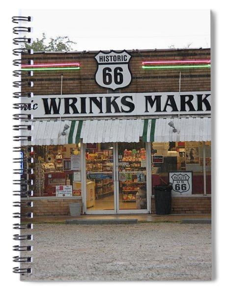 Route 66 - Wrink's Market Spiral Notebook