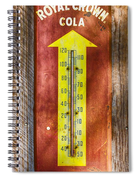 Royal Crown Barn Thermometer Spiral Notebook
