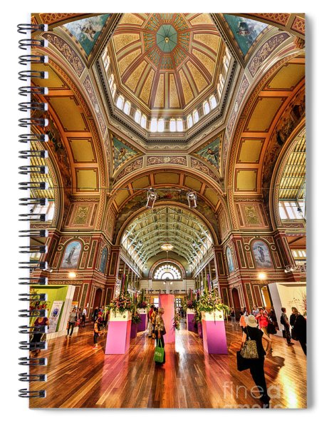 Royal Exhibition Building II Spiral Notebook