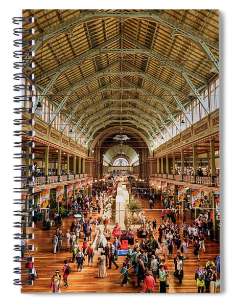 Royal Exhibition Building IIi Spiral Notebook