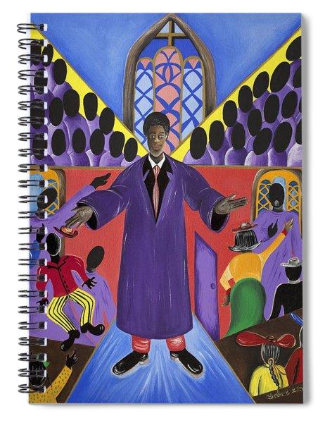 Royal Harvest Spiral Notebook