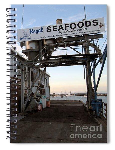 Royal Seafoods Monterey Spiral Notebook