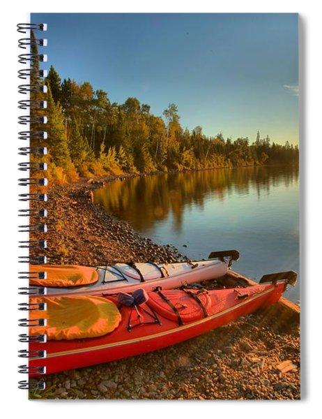 Royale Sunrise Spiral Notebook