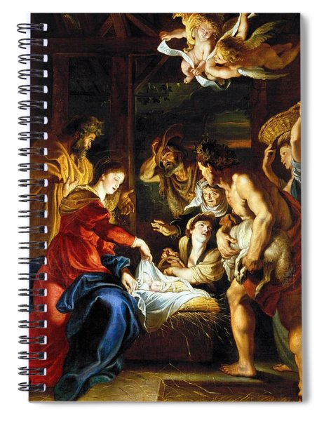 Rubens Adoration Spiral Notebook