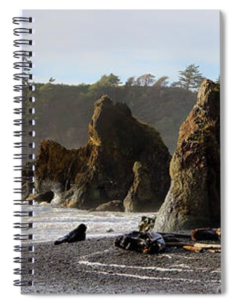 Ruby Beach Spiral Notebook