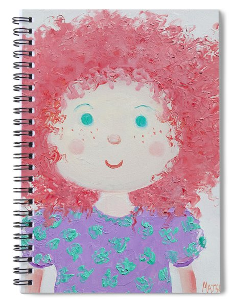 Ruby Spiral Notebook
