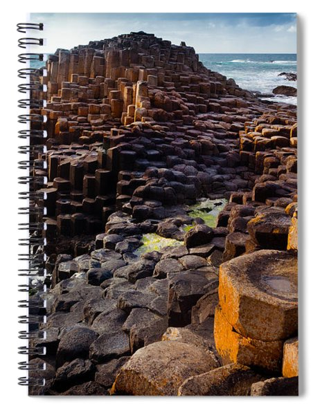 Rugged Giant's Causeway Spiral Notebook