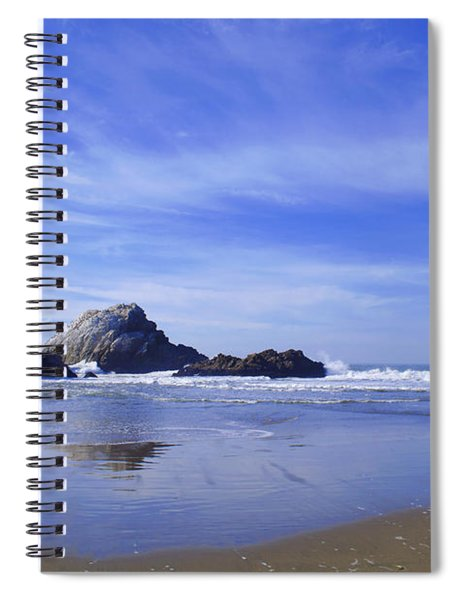 Rugged Reflections Spiral Notebook
