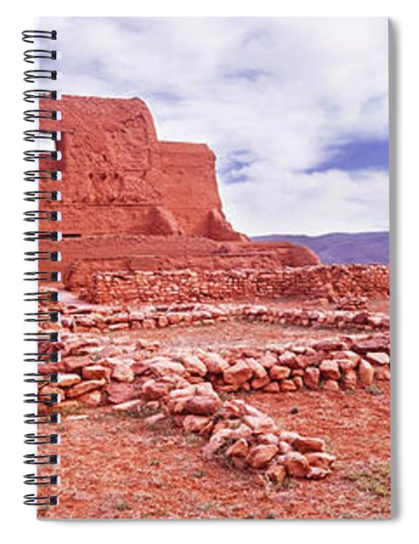 Ruins Of The Mission, Pecos National Spiral Notebook