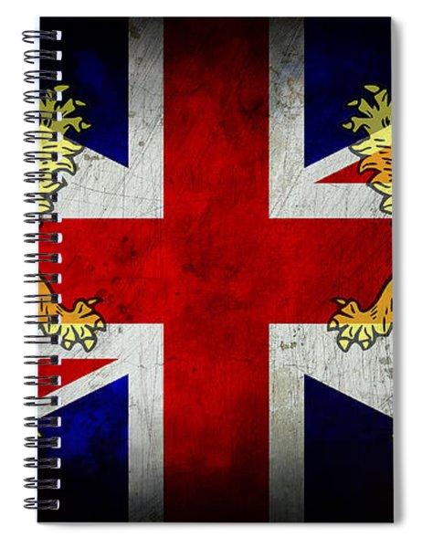 Rule Britannia 2 Spiral Notebook
