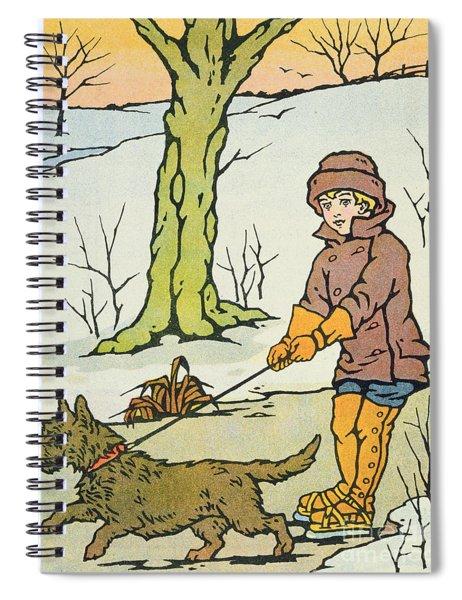 Run Dandy Run Spiral Notebook