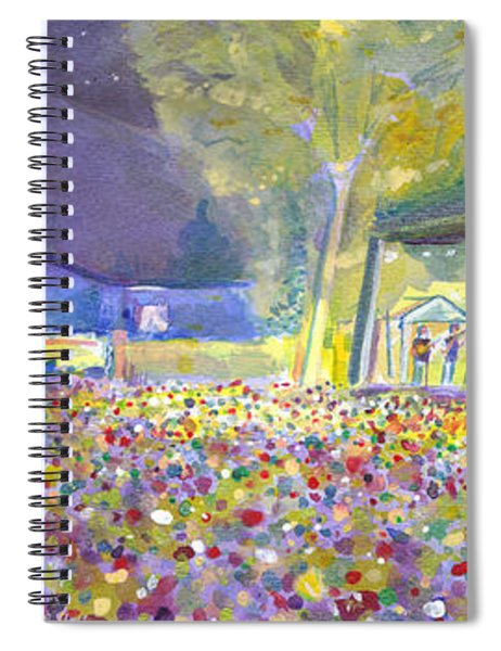 Head For The Hills At The Mish 2011 Spiral Notebook