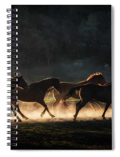 Running Spiral Notebook