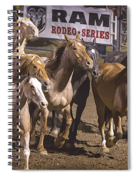 Running Loose Spiral Notebook