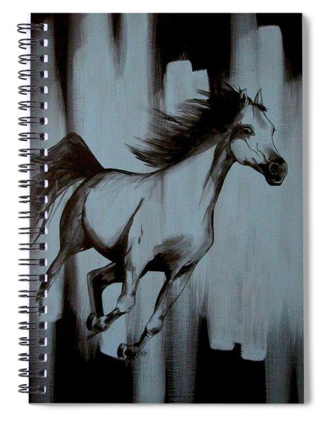 Running Wild Spiral Notebook