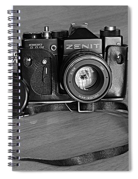 Russian Tank Spiral Notebook