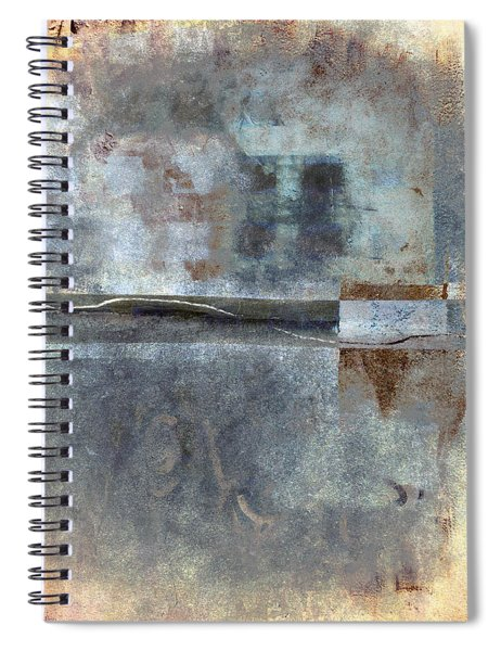 Rust And Walls No. 1 Spiral Notebook