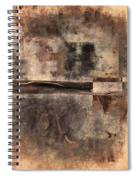 Rust And Walls No. 2 Spiral Notebook