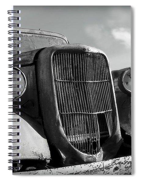 Rustic Beauty Spiral Notebook