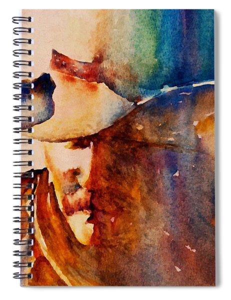 Rustic Cowboy Spiral Notebook