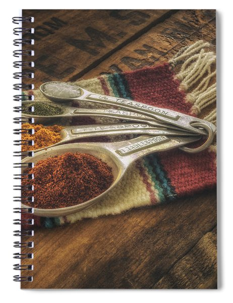 Rustic Spices Spiral Notebook
