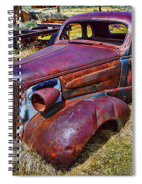 Rusting Away Auto Spiral Notebook