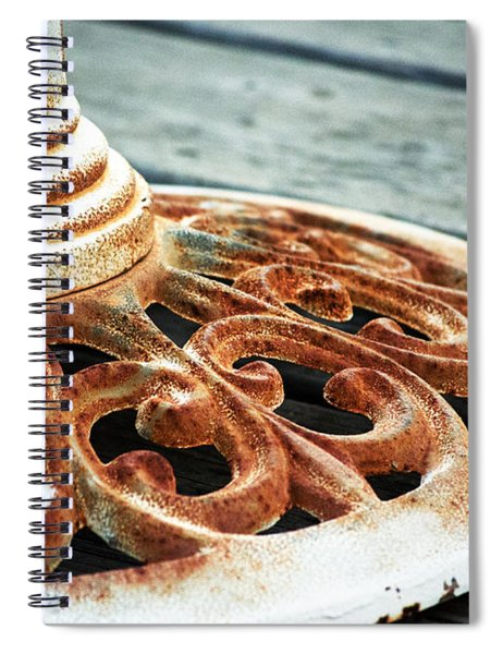 Rusting On The Deck Spiral Notebook