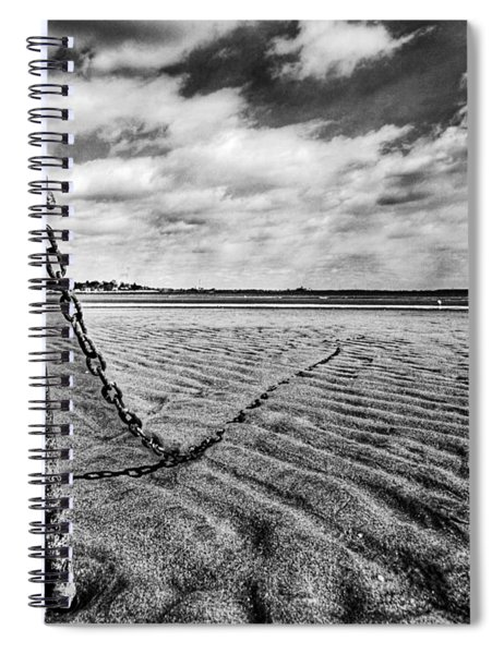 Rusty Anchor Spiral Notebook
