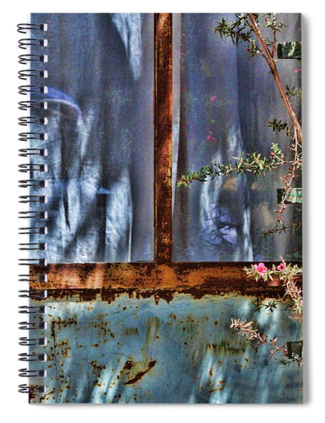 Rusty Charm By Diana Sainz Spiral Notebook
