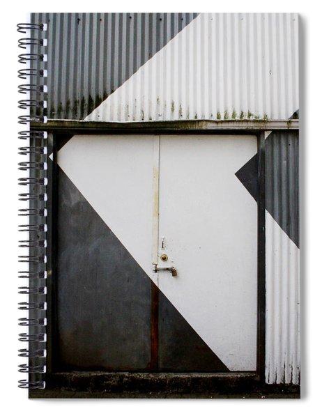 Rusty Door- Photography Spiral Notebook