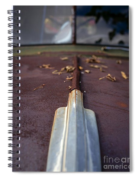 Rusty Old Ford Standard 11x14 Spiral Notebook