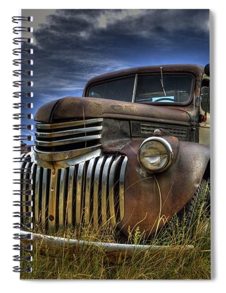 Rusty Relic Spiral Notebook