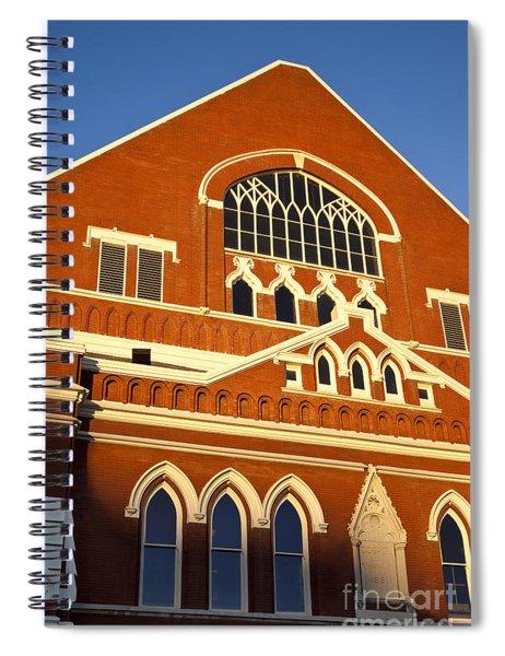 Ryman Auditorium Spiral Notebook