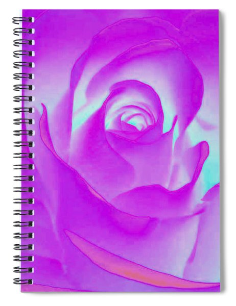 Sabattier Rose Spiral Notebook