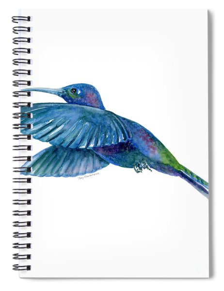 Sabrewing Hummingbird Spiral Notebook