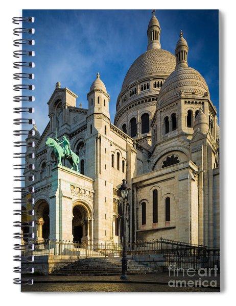 Sacre Coeur At Dawn Spiral Notebook