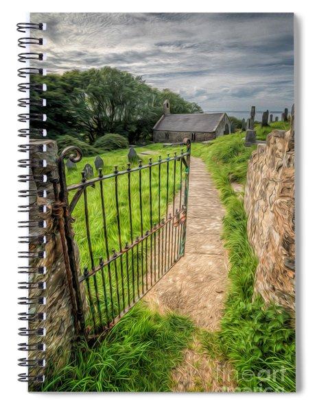 Sacred Path Spiral Notebook