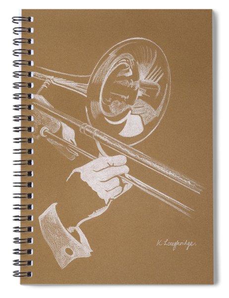 Sacred Trombone Spiral Notebook