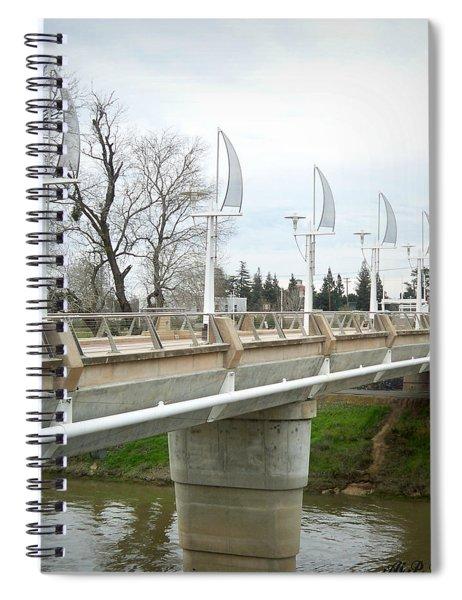 Sacramento California Water District Spiral Notebook by Ai P Nilson