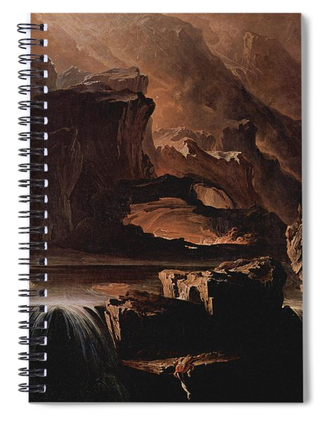 Sadak And The Waters Of Oblivion  Spiral Notebook