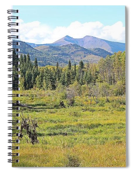 Saddle Mountain Spiral Notebook