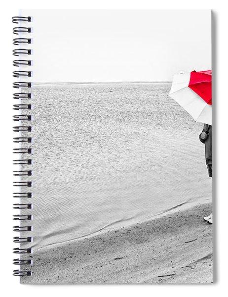 Safe Under The Umbrella Spiral Notebook