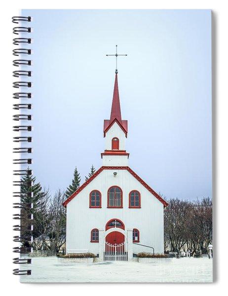 Saga Of Eternity Spiral Notebook